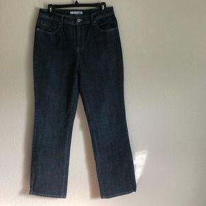 Chico's Platinum, 1.5, Dark-wash Jeans